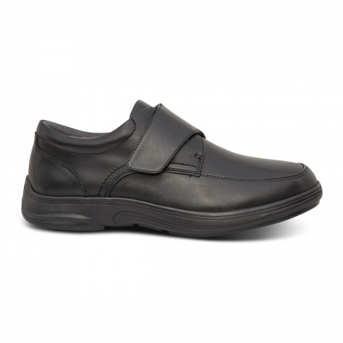 Men-No-22-Casual-Oxford-Black-Lateral