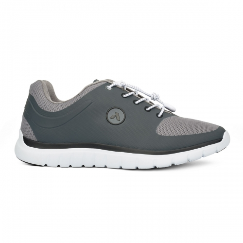 Men-No-22-Sport-Runner-Lace-GreyBlack-Lateral