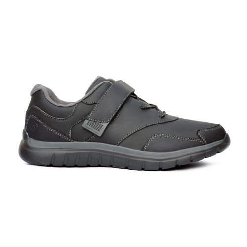 Men-No-38-Sport-Walker-Velcro-Black-Lateral