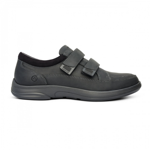 Men-No-96-Casual-Sport-Velcro-Black-Lateral